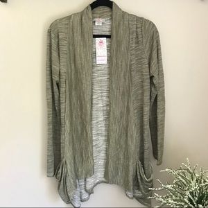 NWT Fall Light Green Cardigan